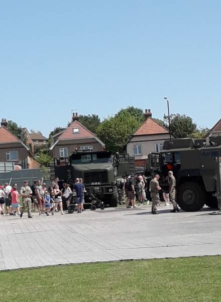 HET's take part in National Armed Forces Day